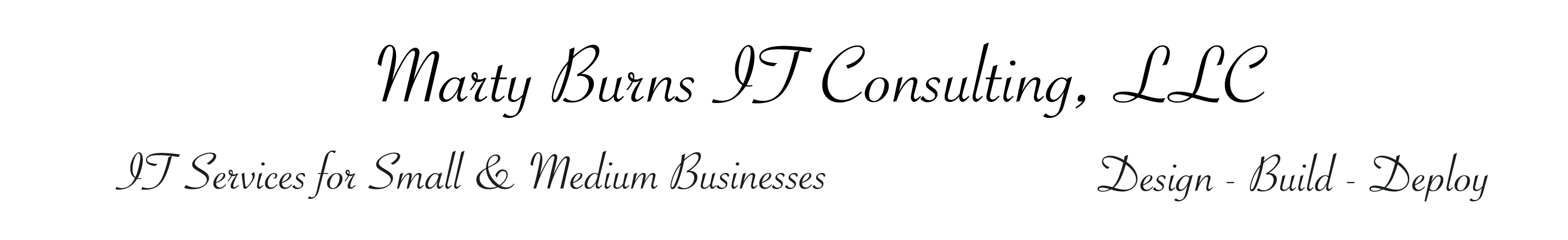 Marty Burns IT Consulting, LLC