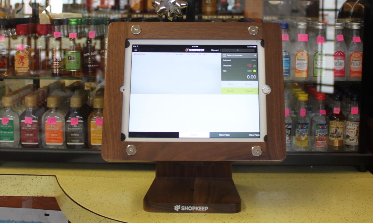 Point of Sale - Selection and Installation Saglimbeni's Liquor Store Geneva